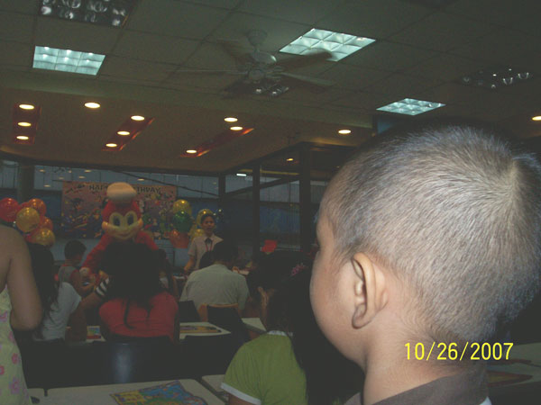 watching Jollibee from a distance