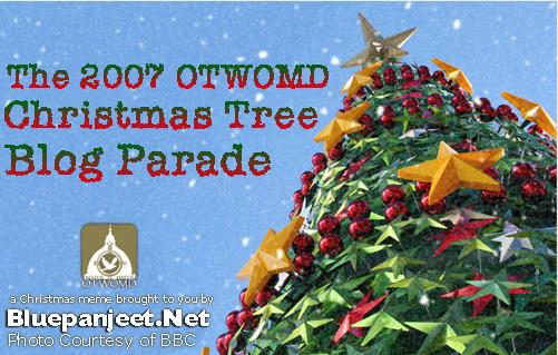 2007 Christmas Tree Blog Parade