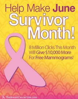 Click to give FREE mammograms