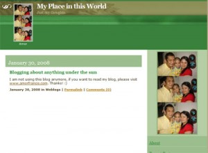 Old blog