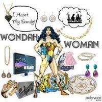 Wonder Woman Award from Melody
