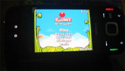 Nokia N85 - N-gage Bounce