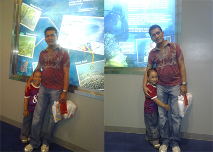 at the Science Discovery Center in MOA