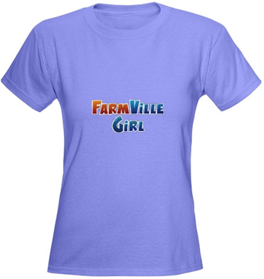 Farmville Girl T-shirt