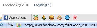 FB bottom toolbar