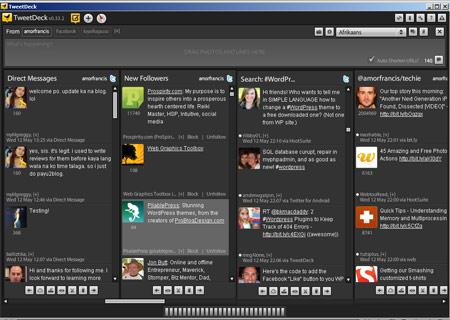 TweetDeck 4 Columns