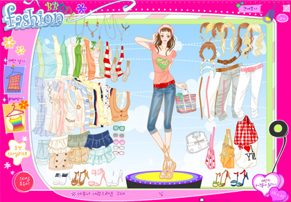 barbie dress up games