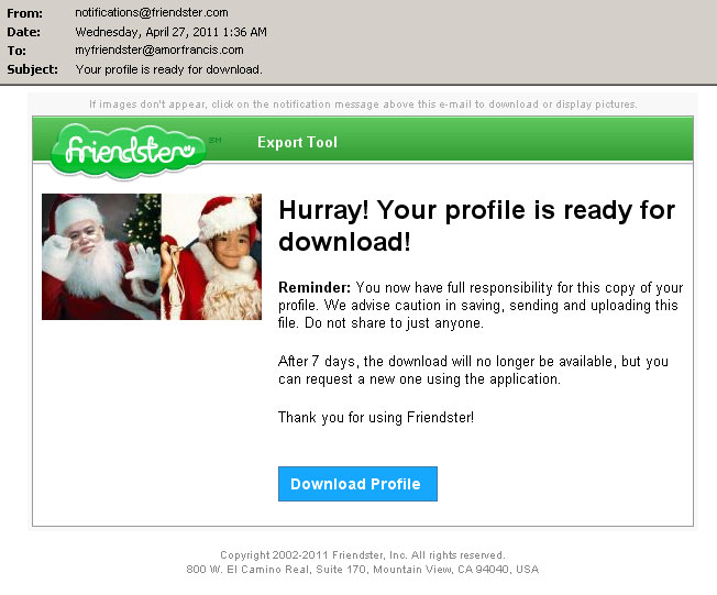 friendster profile ready for download