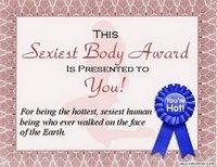 sexy body award from ricka