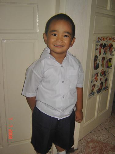 Sean's First Day at Nursery