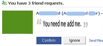 Friend Request Denied