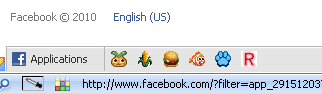 FB bottom toolbar