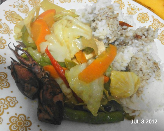 Photo a day July 8, 2012 Lunch